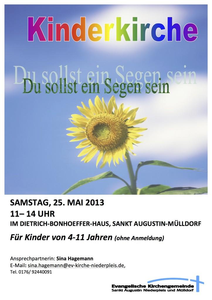 Flyer Segen-Mai 2013