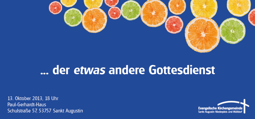 Postkarte Gottesdienst anders _front