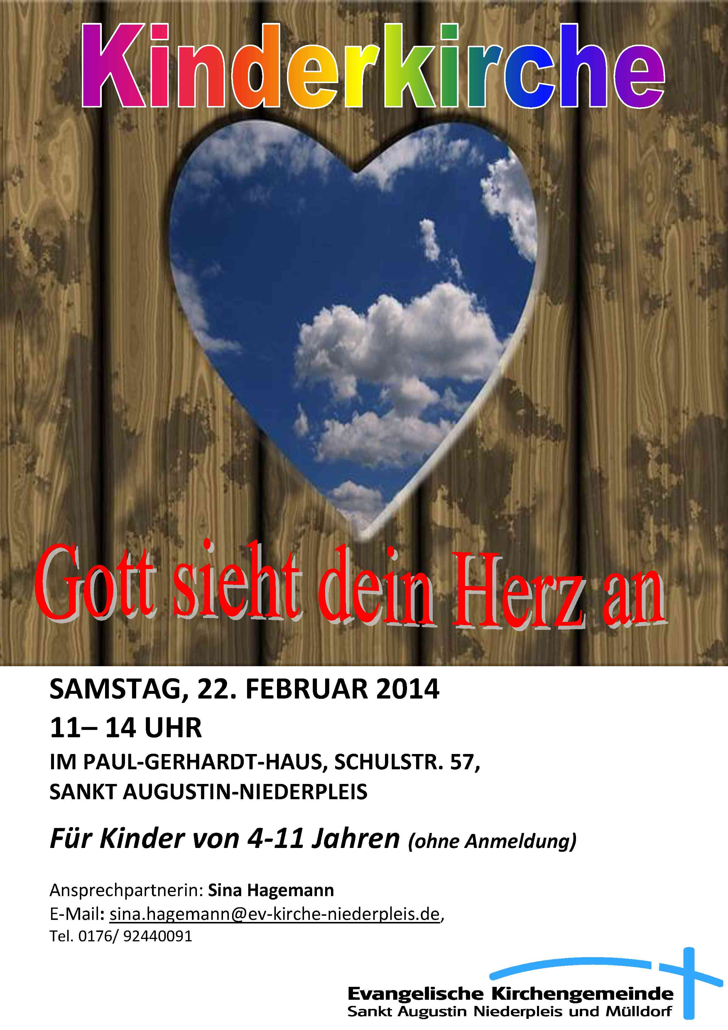 Flyer Kinderkirche