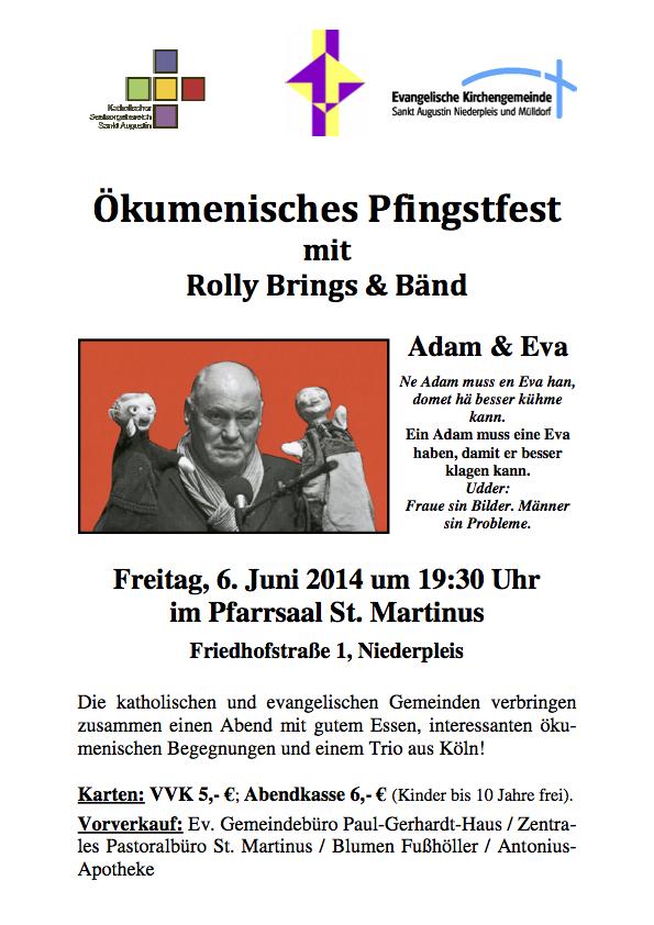 Plakat Pfingstfest 2014