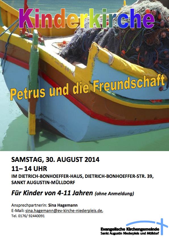 Flyer Petrus August 2014