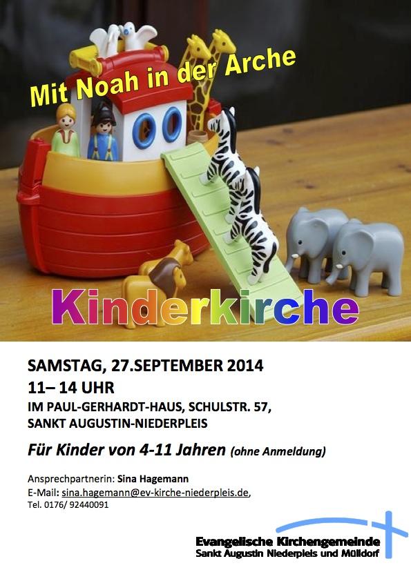 Flyer Kiki September Arche Noah