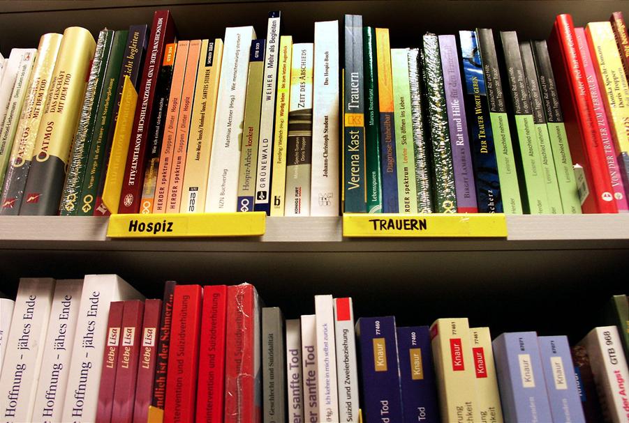 Buchhandlung - Buecher zum Thema Hospiz und Trauern