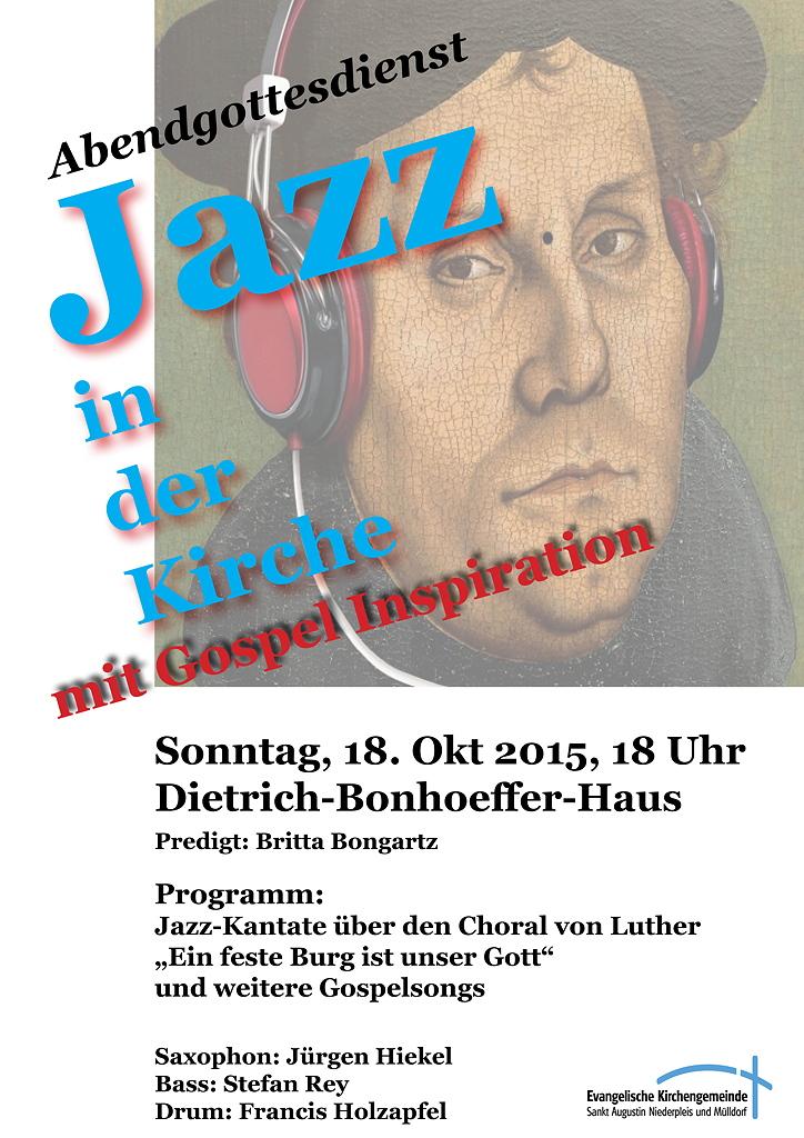 Jazz in der Kirche 18102015