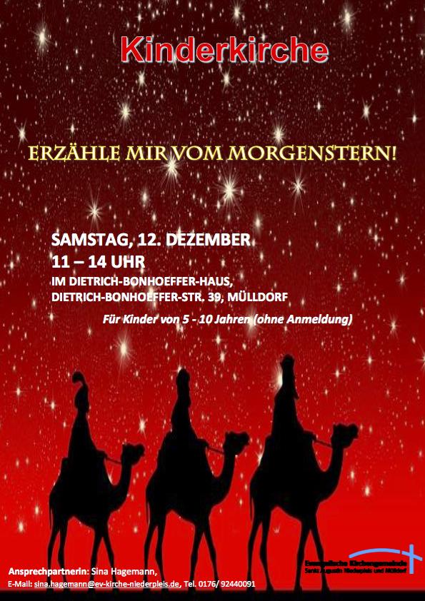 Plakat Dezember Morgenstern