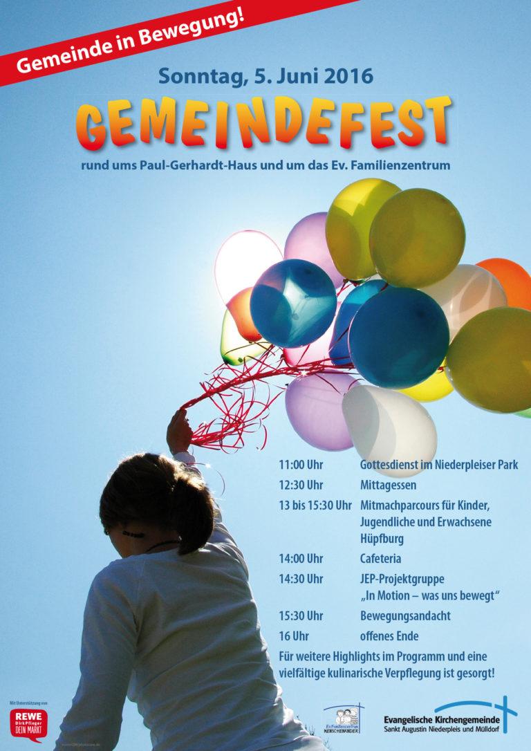 Gemeindefest 2016 Plakat A3.indd