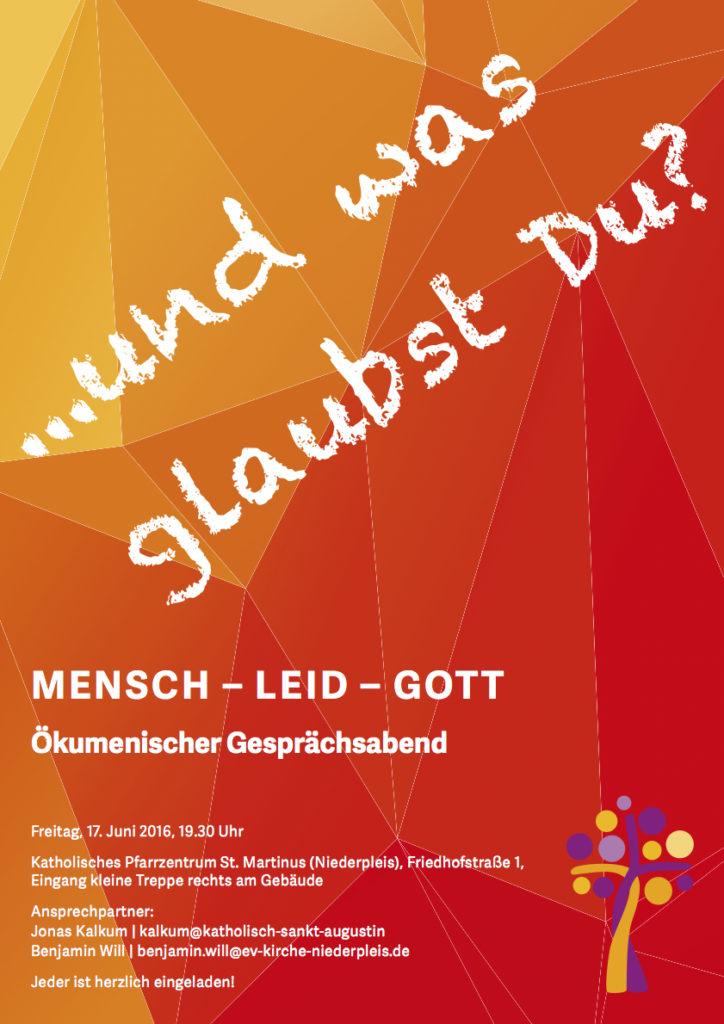 Plakat für Handzettel