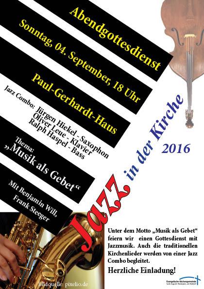 jazz in der Kirche 2016 HZ
